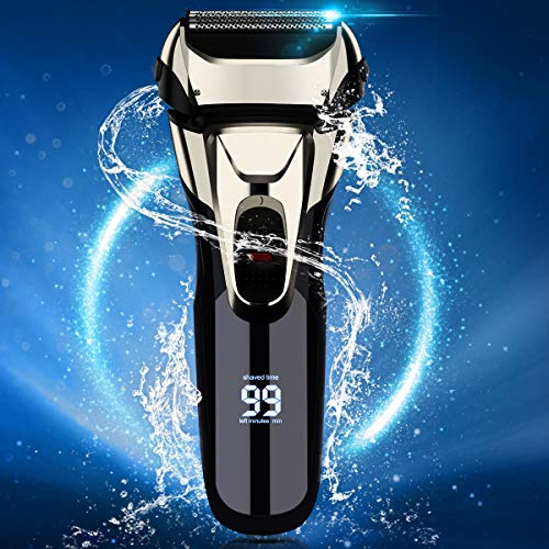 Vifycim Electric Razor for Men, Electric Shavers Dry Wet...