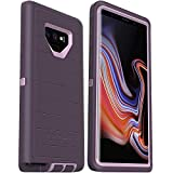 OtterBox Defender Series Rugged Case for Samsung Galaxy NOTE 9 - Case Only - Non-Retail Packaging - Purple Nebula - with Microbial Defense