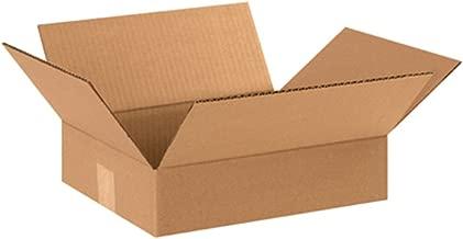 Aviditi 12103 Flat Corrugated Box, 12