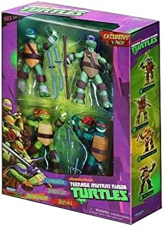 Teenage Mutant Ninja Turtles Exclusive 4-pack Action Figure