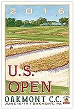 2016 U.S. Open Oakmont Poster
