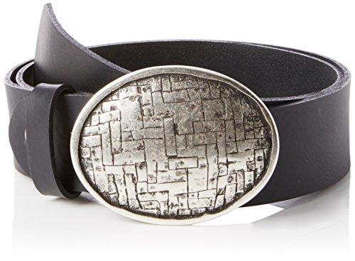 MGM Damen Oval Mesh Gürtel, Schwarz (schwarz-asi 1), 105 cm
