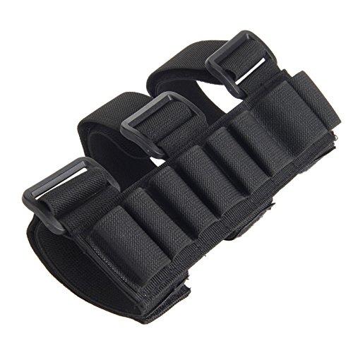 Estuche sujeción brazo 8 cartuchos escopeta caza