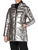 CMP Parka acolchada con efecto shiny chaqueta para mujer, Mujer, Chaqueta, 30K3506, acero, 50
