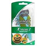 Wilkinson Sword - Xtreme 3 Sensitive - Maquinilla desechable de 3 hojas - 6 unidades