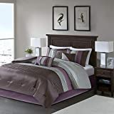 Madison Park Amherst Faux Silk Comforter Set-Casual Contemporary...