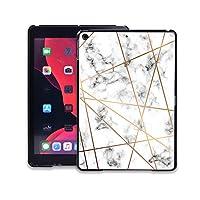 for Apple for iPad 2019 7th 10.2インチマルチカラー軽量で持ち運びに便利なノートブックケース用耐落下タブレットカバーケース-stripe marble-for iPad 2019 7th 10.2