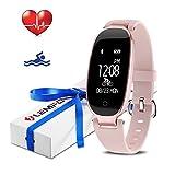 LEMFO Fitness Tracker Heart Rate Monitor Women...