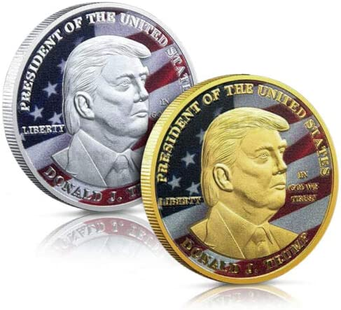 Trump Coin Donald Trump Commemorative Coin Collectible Coin of 45th United States President product image