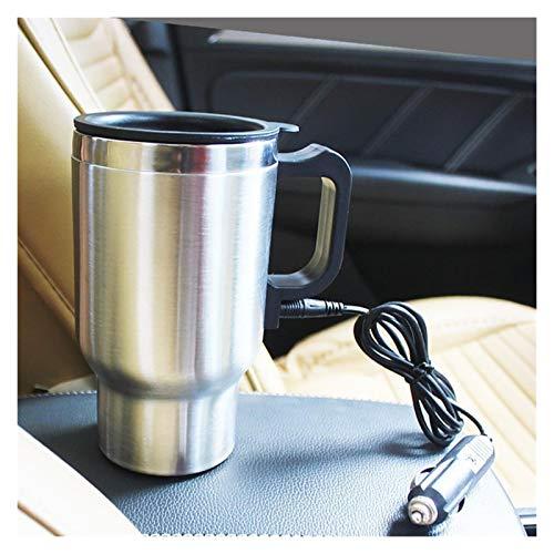 GuanXian 12 V 500 ml de Acero Coche eléctrico Calefacción Taza Auto...