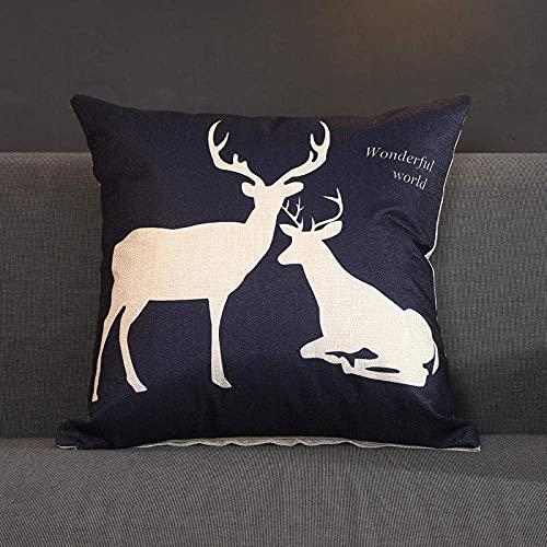 N A Cuscino con motivo astratto in bianco e nero, stampa 3D cuscino creativo, decorazione per la casa, soggiorno giardino divano cuscino, incluso cuscino