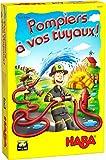 HABA- Pompiers, à Vos tuyaux Jeu de rapidité-5 Ans et Plus, 305481