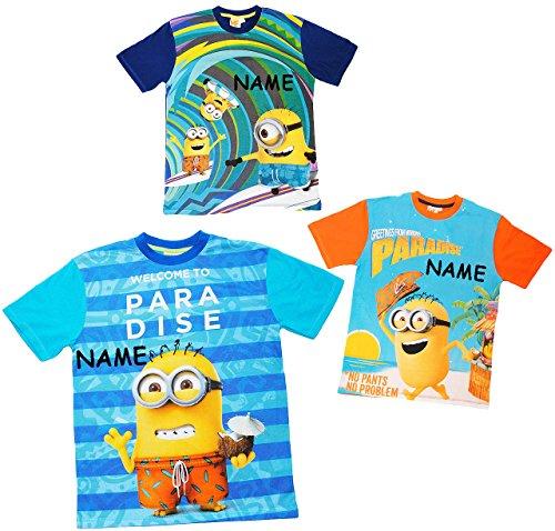 alles-meine.de GmbH T-Shirt -  Minions - Ich einfach unverbesserlich  - incl. Name - Größe - L - 100 {2f056e51c4224921f46fb780b5669b590304bb243a3f4841874241e40cce7856} Baumwolle - Frauen / Männer / Jugendliche - Shirt Kurzarm - Minion / Mark..
