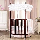 Dream On Me Sophia Posh Circular Crib, Cherry