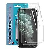 Qoosea Pellicola Protettiva Compatibile per iPhone 11 PRO Max 6.5' [3 Pezzi Dietro] TPU Protezione...
