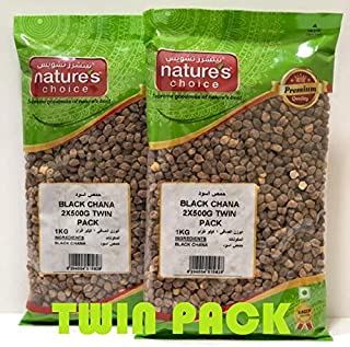 Natures Choice Black Chana - 500 gms (Pack of 2)