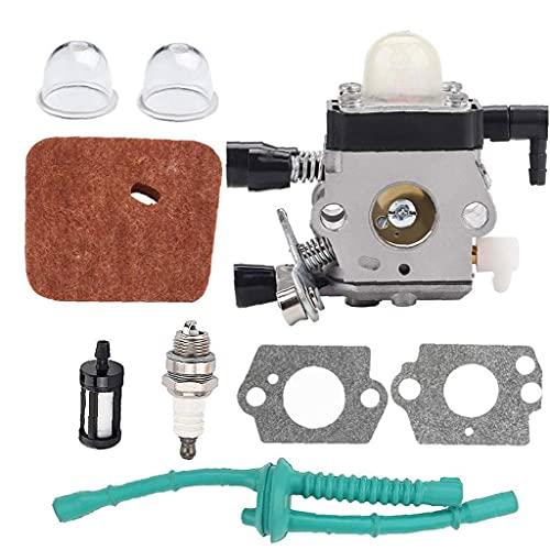 Hainice String-Trimmer-Vergaser-Kit Carb-Ersatzkompatibel mit Sthil FS38 FS45 FS46 FS55 KM55 FS85 Edger