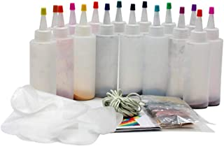 8Colors/18colors DIY Tie Dye Kit, With Rubber Bands Gloves, One-Step Tie Dye Set, Non-toxic Shirt Fabric Dye Kit Clothing ...