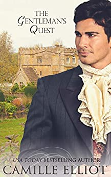 The Gentleman's Quest: inspirational historical romance (Journeys of the Heart Book 1) by [Camille Elliot]