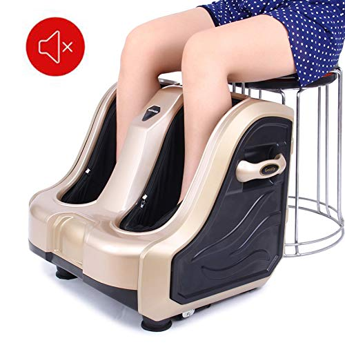 Amazing Deal WSN Foot and Leg Massager Foot Massager Finger Pressing Kneading Rolling Vibration Heat...