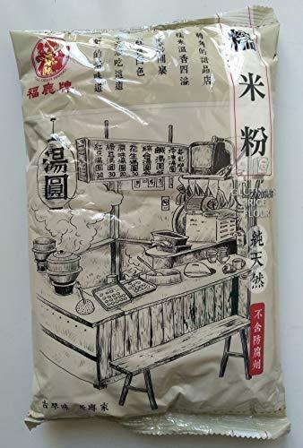 福鹿牌 台湾糯米粉600g/袋(もち米の粉)台湾産もち米粉