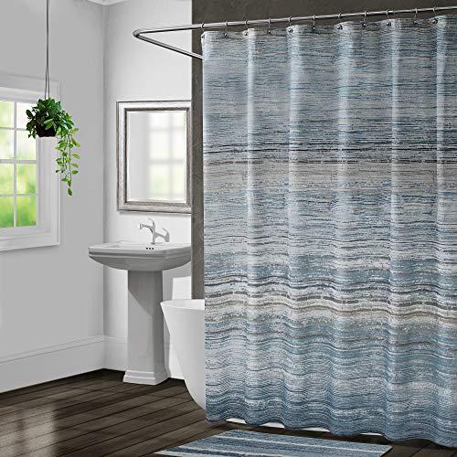 Croscill Nomad Shower Curtain, Mineral