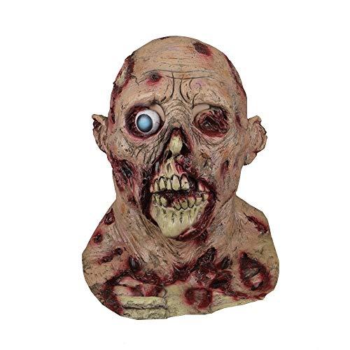 XIAMAZ Máscaras De Halloween Fiesta De Látex Horrible Broma De Miedo Globo Ocular Máscara De Terror Disfraces Disfraz De Cosplay Máscara De Disfraces