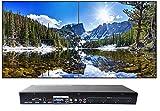 2x2 HDMI Video Wall Processor (2019 Version) HD TV 1080P Matrix Controller Splicer Splitter Display 2x2 2x1 1x2