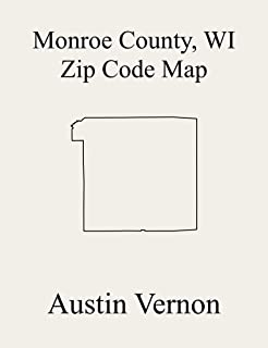 Monroe County, Wisconsin Zip Code Map: Includes Wilton, Little Falls, Rockland, Ontario, La Grange, Norwalk, Tomah, Adrian, Glendale, Grant, Greenfield, ... Leon, Lincoln, Melvina, New Lyme, An
