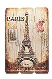 levandeo Schild aus Holz - Holzschild Paris Frankreich