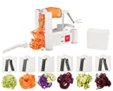 Best Spiralizers - Paderno World Cuisine 6-Blade Vegetable Slicer / Spiralizer Review