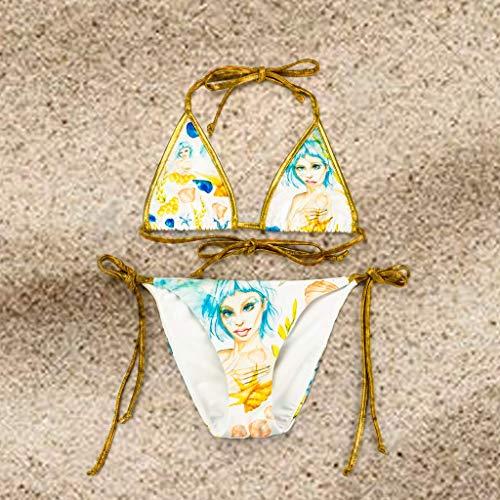 Bikini triangulo Larimar