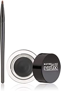 Maybelline New York Eye Studio Lasting Drama Gel Eyeliner, Blackest Black 950