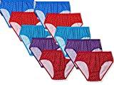 StyFun® Women Girls Ladies Undergarments Panty for Woman Panty Sets for Women  Hipster Panties for Ladies Cotton Panties for Women Innerwear Multicolor Panty Pack of 10 Size-M 