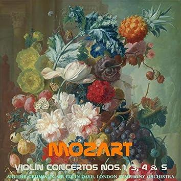 Mozart: Violin Concertos, No. 1, 3, 4 & 5