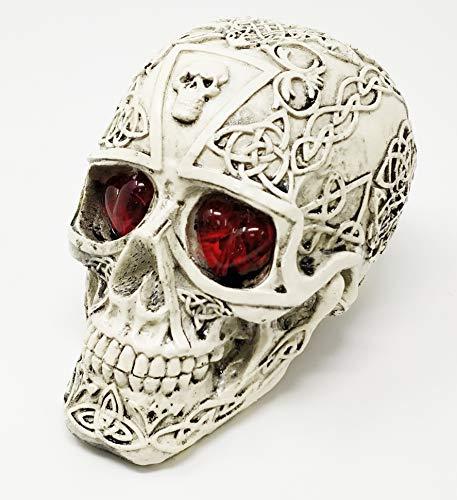 Sterling Effectz JRose Collections Crânes lumineux avec différents motifs, Design B
