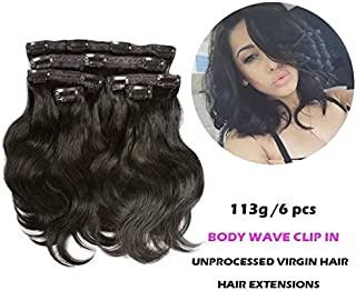 wave clips on natural hair