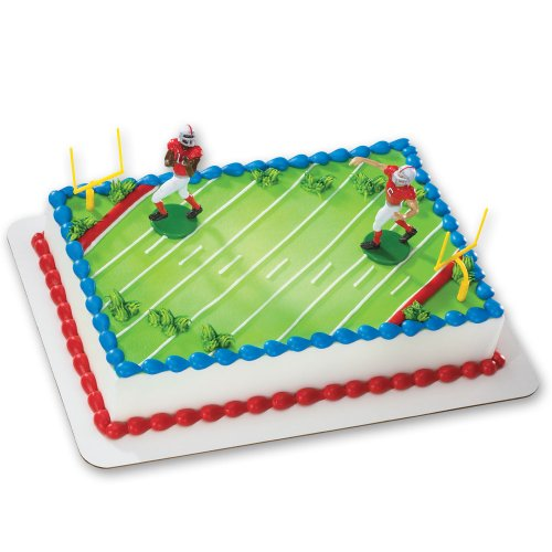 Football-Touchdown DecoSet Cake Decoration