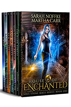 Soul Stone Mage Complete Collection Boxed Set: The entire seven book series by [Sarah Noffke, Martha Carr, Michael Anderle]