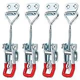 Trintion 4 Stuck Metall Spannverschluss Hebel Verschluss Spannverschluss Kistenverschluss...