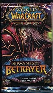 WoW World of Warcraft Servants of the Betrayer Booster Pack [Toy]