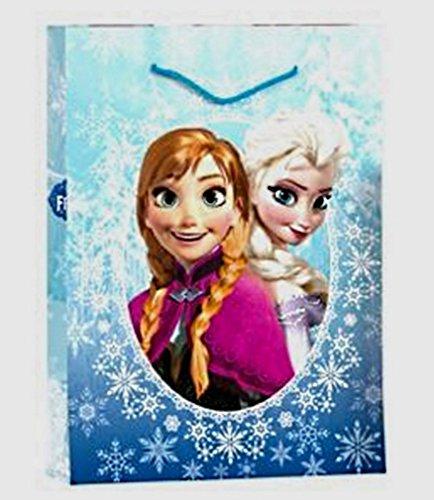 Disney Sac Cadeau Reine des NEIGES Frozen 23 X 18 CM Fete Noel Anniversaire