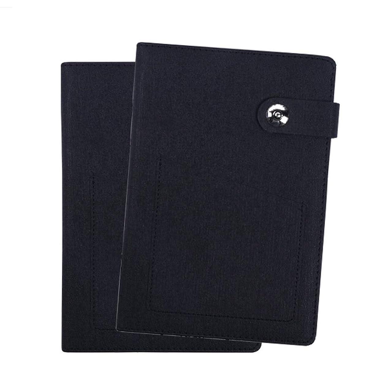 メモ帳のオフィスの記録のノートの絶妙な日記 Miyabitors (Color : 褐色)