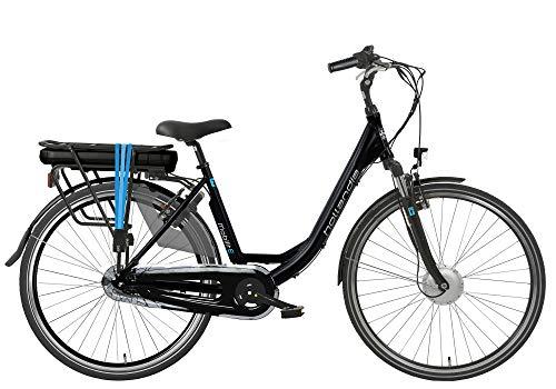 Hollandia Mobilit-E ST E-Bike Nexus 7 FHM 49cm Black/Blue, 7 sp (49 cm)