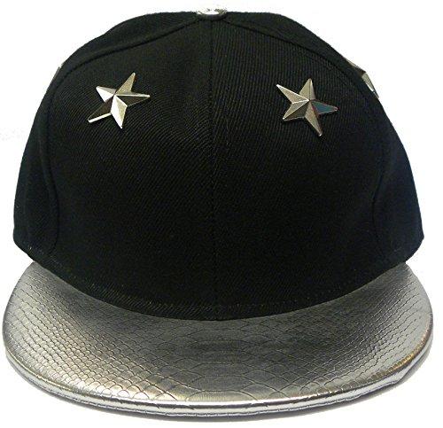 Neuf Baseball Unisexe Fancy Hip Hop tendance à rabat clouté Casquette Chapeaux - -