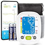 Bluetooth Blood Pressure Monitor Wrist - by Greater Goods, Smart, Connected BPM for Home or On-The-Go, Premium Cuff | Designed in St. Louis