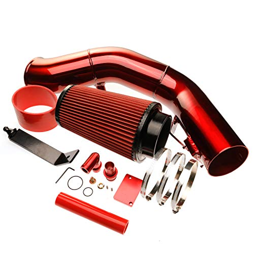 6.0 Cold Air Intake Kit Compatible with 2003 2004 2005 2006 2007 Ford F-250 F-350 Excursion 6.0L Powerstroke Diesel