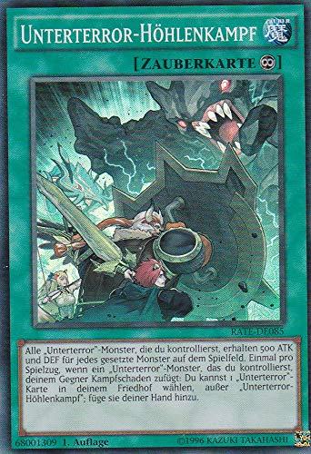 RATE-DE085 - Unterterror-Höhlenkampf - Super Rare - Yu-Gi-Oh - Deutsch 1. Auflage