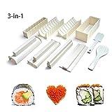 Hemore Easy Sushi Maker 10 pièces, kit de Fabrication de Sushi pour Les débutants