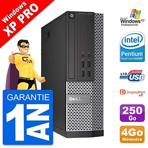 Dell PC OptiPlex 7020 SFF Intel G3220 RAM 4 GB Festplatte 250 GB Windows XP (überholt)
